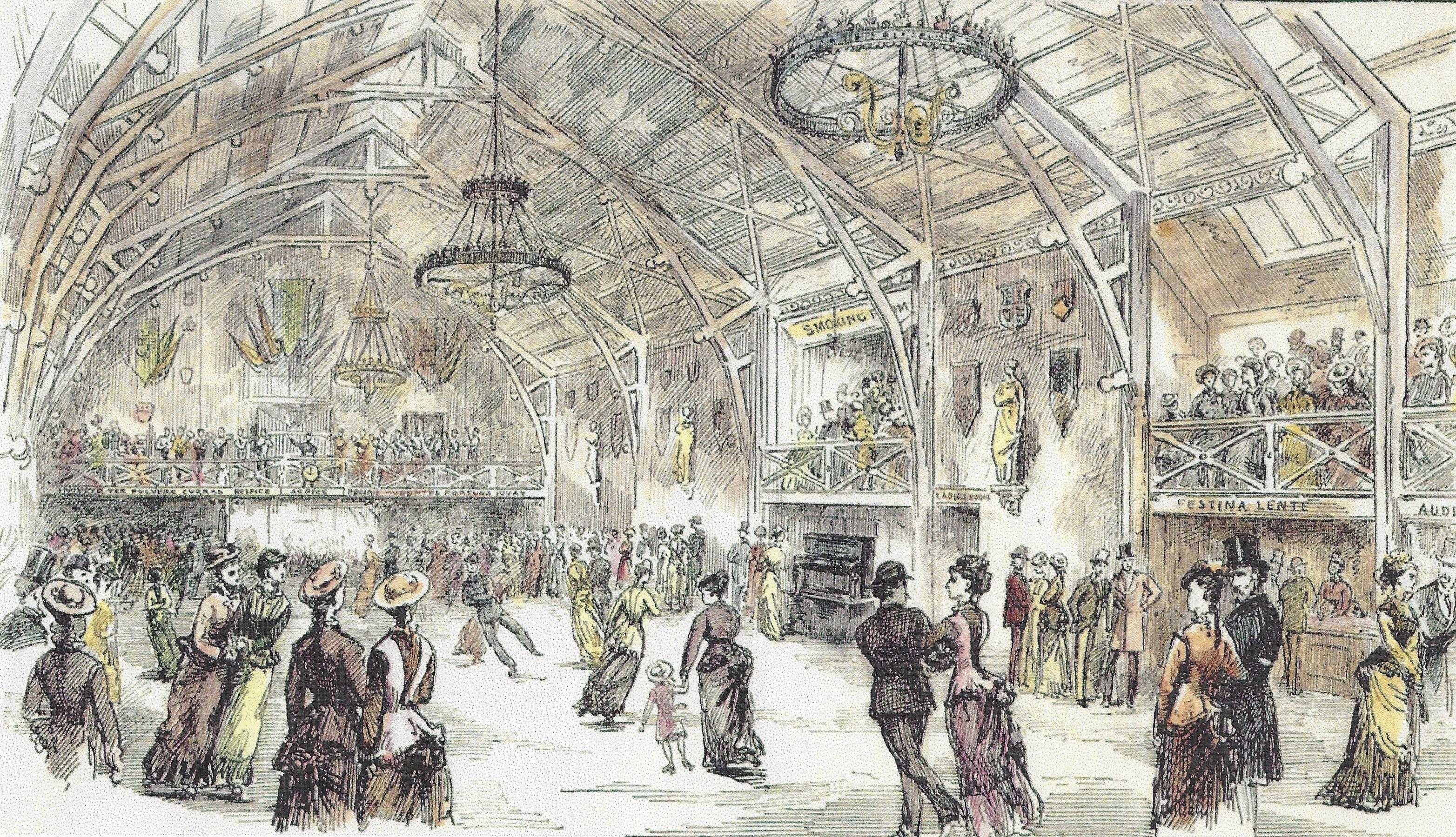Victorian roller skating rink